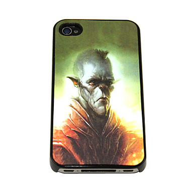 3D Changeable Funny Demon Pattern Hard Case for iPhone 4/4S