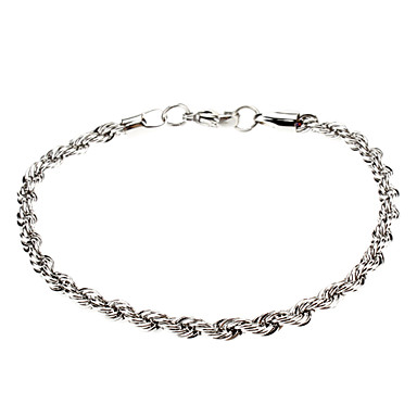 Twist Stainless Steel Bracelet