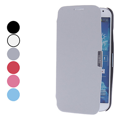 Solid Color PU Leather Full Body Case with Stand for Samsung Galaxy S4 I9500