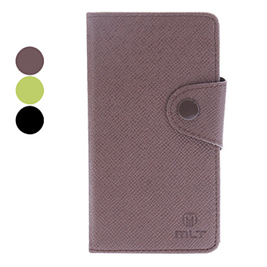 Microgroove Grain PU Leather Case for Sony Xperia L36h (Assorted Colors)