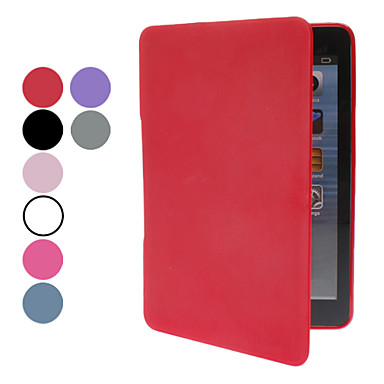 TPU material hela kroppen fallet w / stativ för iPad mini 3, iPad Mini 2, iPad Mini (blandade färger)