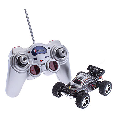 WLtoys 2019 1:32 High Speed Mini Remote Control Racing Car (Red,Black,Blue)