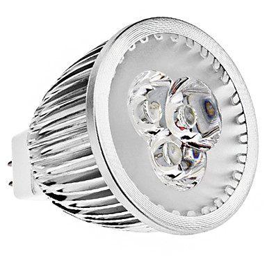 Spot Lampen MR16 GU5.3 6 W 370 LM K 3 High Power LED Warmes Weiß / Kühles Weiß DC 12 V