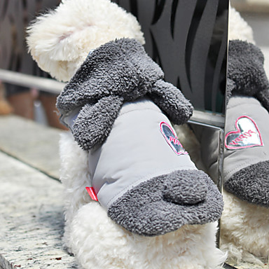 Dog Coat Dog Clothes Cosplay Gray Pink Costume For Pets