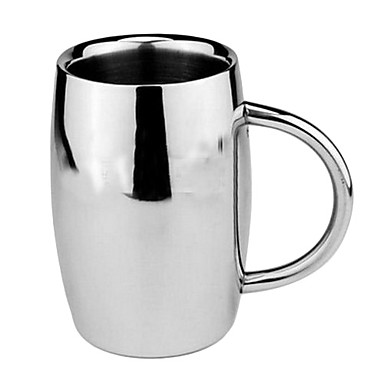 High Quality Stainless Steel Beer Double Wall Mug(400ml)