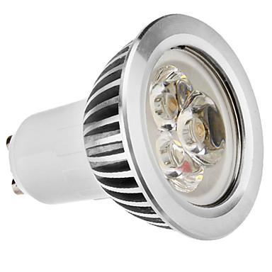 GU10 3W 210-250LM 2700-3500K lumière blanche chaude Ampoule LED spot (110-240V)