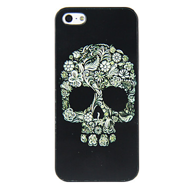 PC Skull Pattern Hard Case for iPhone 5/5S