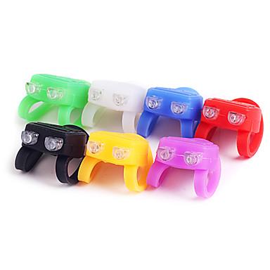 Bike Light , Front Bike Light - 1 Mode Lumens Cell Batteries Battery Cycling/Bike Black / Red / White / Green / Blue / Yellow / Purple