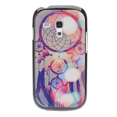 Samsung Galaxy S3 Mini I8190 için çiçekli Zil Tonu Hard Case