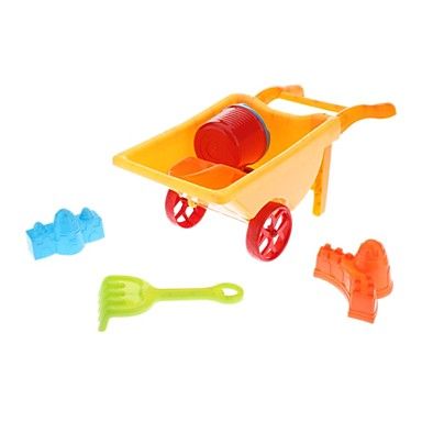 Kid's 6-in-1 Plastic Truck Beach Toys