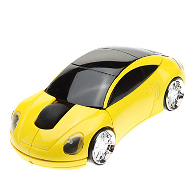 2.4GHz Stylish Durable Car Design Wireless USB Mouse for Laptop/PC/Notebook
