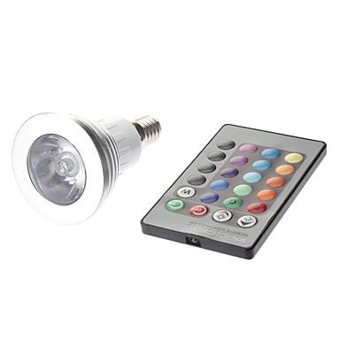 180 lm E14 LED-spotlys MR16 1 leds Højeffekts-LED Fjernstyret AC 85-265V