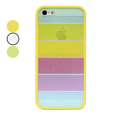 fond transparent couleur arc en ciel pour l'iphone 5/5s (couleurs assorties)