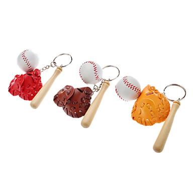 Beyzbol Seti Stil Anahtarlık (Rastgele Renk)