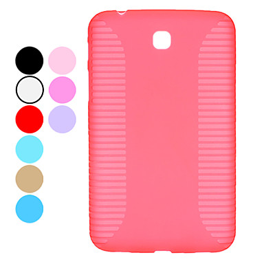 Solid Color Hard Case para Samsung Galaxy Tab P3200, P3210