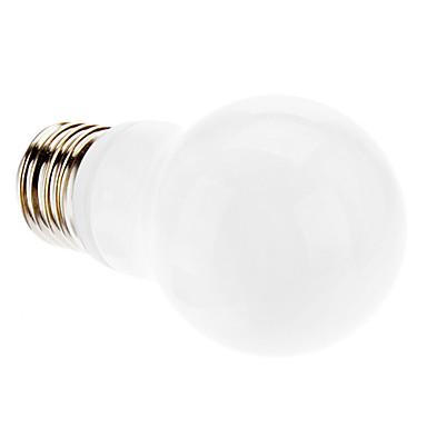 3000 lm E26/E27 LED Globe Bulbs A60(A19) 12 leds SMD 3328 Warm White AC 220-240V