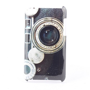 Retro Protective Hard Case for iPod Touch 4 (Lens)