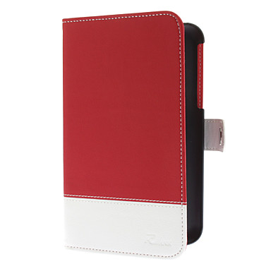 PU Leather Case with Magnetic Snap for Samsung Galaxy Tablet 3 P3200 (Assorted Colors)