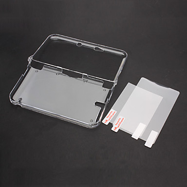 Kasa Koruyucu Uyumluluk Nintendo 3DS Kasa Koruyucu Plastik 1 pcs birim