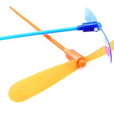 LED Flying Helicopter Umbrella Jet Plastic Dragonfly(Random Color)
