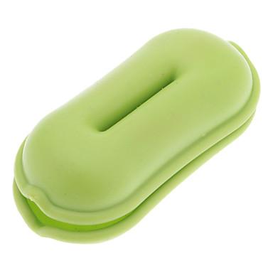 Qirtie vert arachide style écouteurs enrouleur de câble Fil Twister pour iPod MP3 MP4