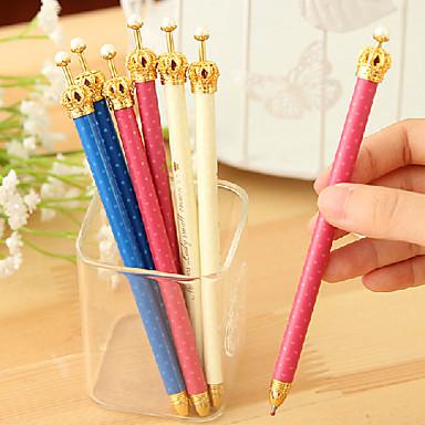 Kalem Kalem Mekanik Kalemler Kalem, Plastik Siyah mürekkep Renkleri For Okul malzemeleri Ofis malzemeleri Pack