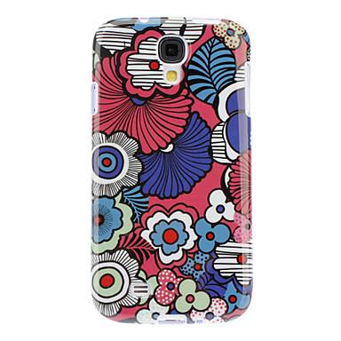 crtani cvijeće obrazac TPU torbica za Samsung Galaxy S4 i9500