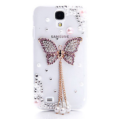 Purple Boundary Butterfly Back Case for Samsung Galaxy S4 I9500