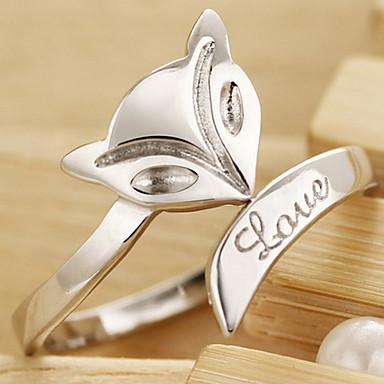 Kadın's alaşım Bildiri Yüzüğü - Moda halka Uyumluluk Günlük