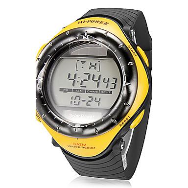 Men's Multi-Function Digital Dial Rubber Band Quartz Analog Wrist Watch (Assorted Colors) Cool Watch Unique Watch