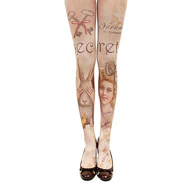 Pentru femei lolita Șosete / ciorapi Imprimeu Bumbac Lolita Accesorii / Înaltă Elasticitate