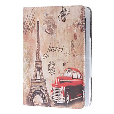 Retro Style Car and The Eiffel Tower Case for iPad mini 3, iPad mini 2, iPad mini