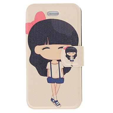Motif Case odeur parfumée moderne de fille Full Body avec mat de couverture arrière et support pour iPhone 4/4S