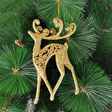 Noel Dekorasyon Goledn Moose Süs
