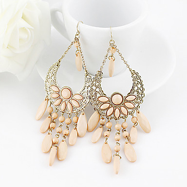 Women's Drop Earrings Costume Jewelry Statement Jewelry Festival/Holiday Resin Alloy Jewelry Jewelry For Party Daily