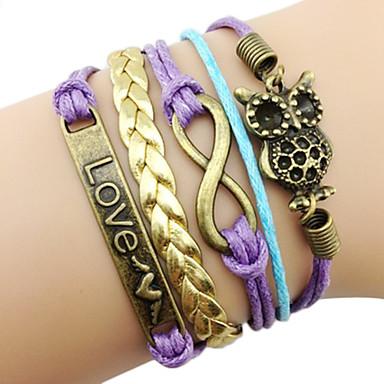 Mote 7cm kvinner Flerfarget Fabric Wrap Bracelet (Flerfarget) (1 stk)