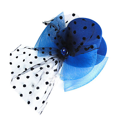 Elegant Dots Meshy Rhinestone Decorated Hat for Pets Dogs (Assorted Colors)