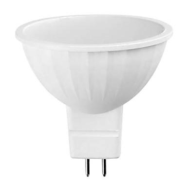 500 lm GU5.3(MR16) LED Spot Işıkları 15 LED Boncuklar SMD 5730 Sıcak Beyaz 12 V