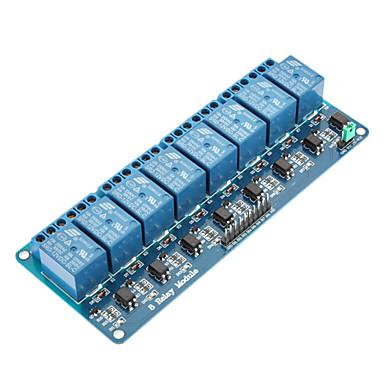 Modul de relee cu 5 canale de 8 canale pentru (pentru arduino) (funcționează cu plăci oficiale (pentru arduino)