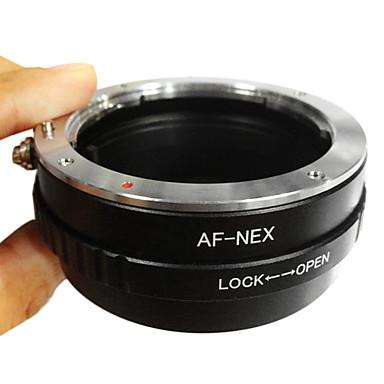Sony Nex-7 Nex-6 NEX-5 NEX-3 için Nex Lens Adaptörü Dönüştürücü E-Mount Emolux Sony Minolta MA AF