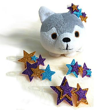 Cute Glitter Pet Dogs Hairpins (1-Piece, Random Color)
