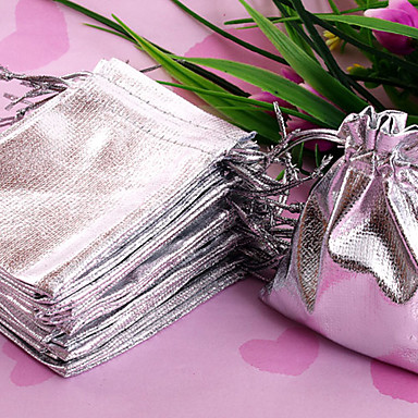 Pochettes à bijoux Tissu Argent
