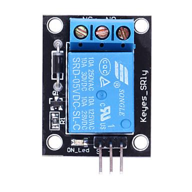 (Для Arduino) релейный модуль 5В для управления СКМ Девелопмент / бытовой техники - черный + синий
