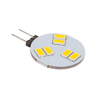 billige LED & Belysning-LED-spotlys 260 lm G4 6 LED Perler SMD 5630 Varm hvid 12 V / #