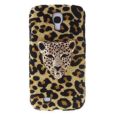 Samsung Galaxy S4 I9500 için elmas taklidi ile Moda Tasarımı Leopard Desen Hard Case
