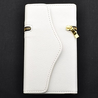 Wallet Style Protective PU Leather Case/Card Slot for Samsung Galaxy Note 2(N7100)