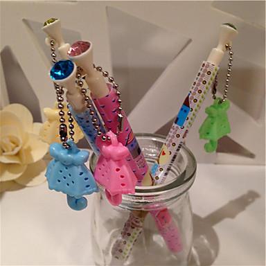 Umbrella Pendant Parfume Blue Ink Ballpoint Pen (Random Colors 1PCS)