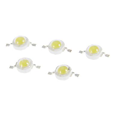 5W 350LM 6000-6500K Soğuk Beyaz Işık LED Chip (6-7V, 5 adet)