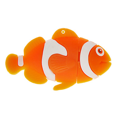 8GB balık şekilli usb flash sürücü