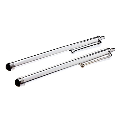kalem dokunmatik kalem ipad / iphone 8 7 için samsung galaxy s8 s7 (gümüş, 2adet)